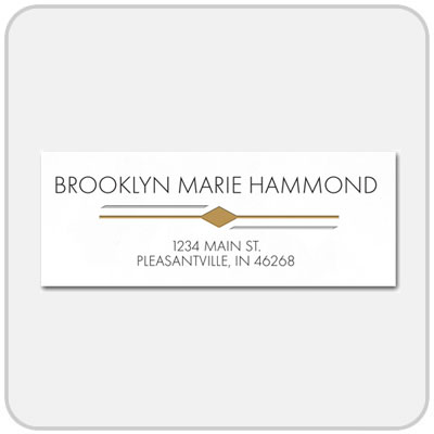 College graduation products by herff jones return address labels 60 pack yadclub Gallery