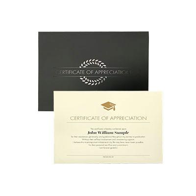 College graduation products by herff jones premium appreciation certificate yadclub Gallery