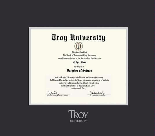 Custom Diploma Frames & Certificate Frames - Framing Success: Troy ...