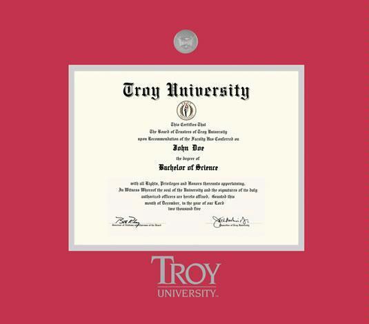 Troy University Online >> Custom Diploma Frames Certificate Frames Framing Success