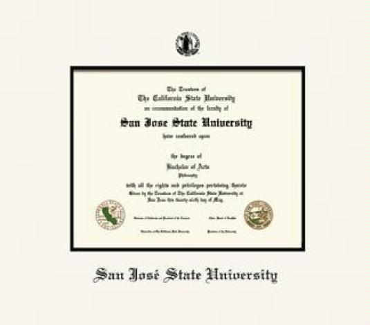 Custom Diploma Frames & Certificate Frames - Framing Success: San ...