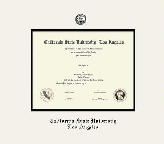 Custom Diploma Frames & Certificate Frames - Framing Success: CSU ...