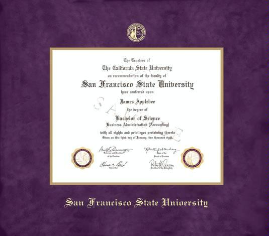 Custom Diploma Frames & Certificate Frames - Framing Success: San ...