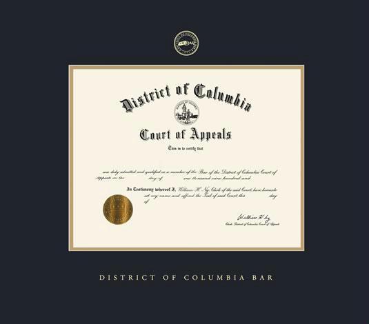 black certificate