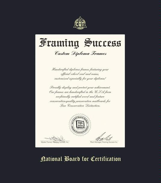 Custom Diploma Frames Certificate Frames Framing Success Nat Bd