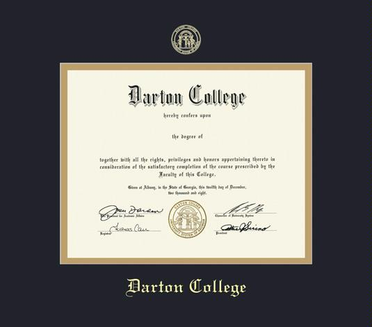 Custom Diploma Frames & Certificate Frames - Framing Success: Darton ...
