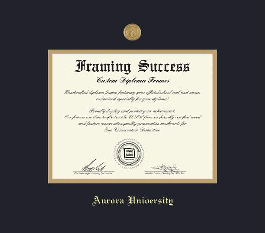 Custom Diploma Frames & Certificate Frames - Framing Success: Aurora ...
