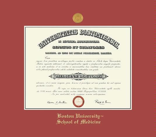Custom Diploma Frames & Certificate Frames - Framing Success: Boston ...