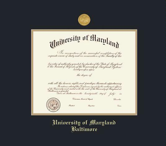Custom Diploma Frames & Certificate Frames - Framing Success: U. of ...