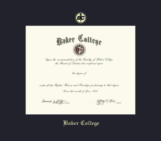 Custom Diploma Frames & Certificate Frames - Framing Success: Baker ...