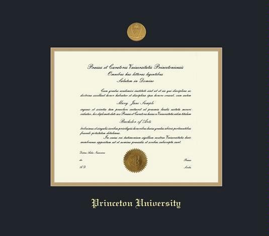 Custom Diploma Frames & Certificate Frames - Framing Success ...