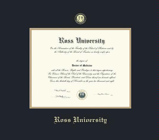 Custom Diploma Frames & Certificate Frames - Framing Success: Ross ...