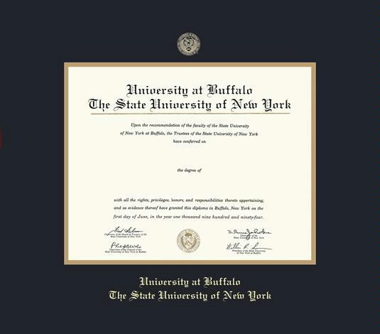Custom Diploma Frames & Certificate Frames - Framing Success: SUNY ...