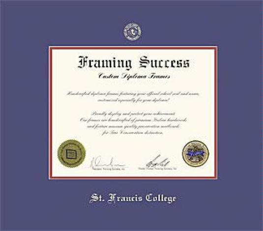 Custom Diploma Frames & Certificate Frames - Framing Success: St ...