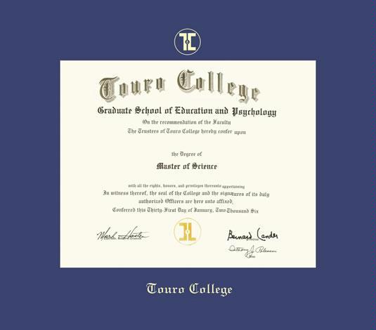 custom diploma frames certificate frames framing success  touro college diploma master frame royal blue mat and gold embossing approximate frame size 19 x 22 inches