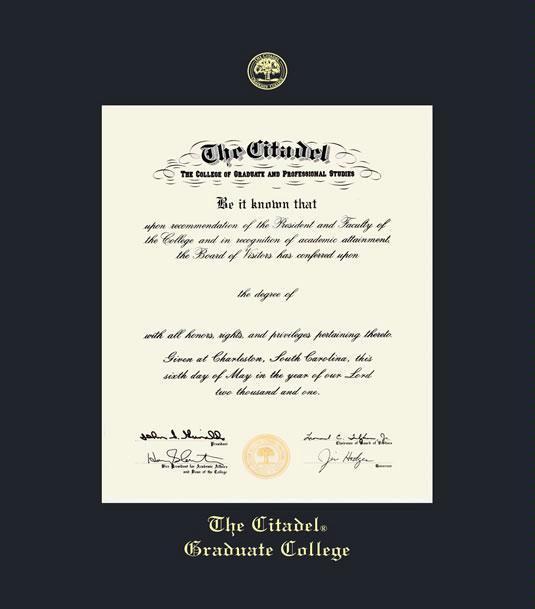 Custom Diploma Frames & Certificate Frames - Framing Success: The ...