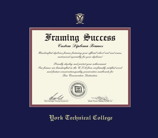 Custom Diploma Frames & Certificate Frames - Framing Success: York ...