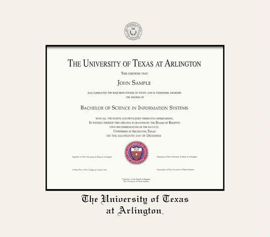 Custom Diploma Frames & Certificate Frames - Framing Success: UTA ...