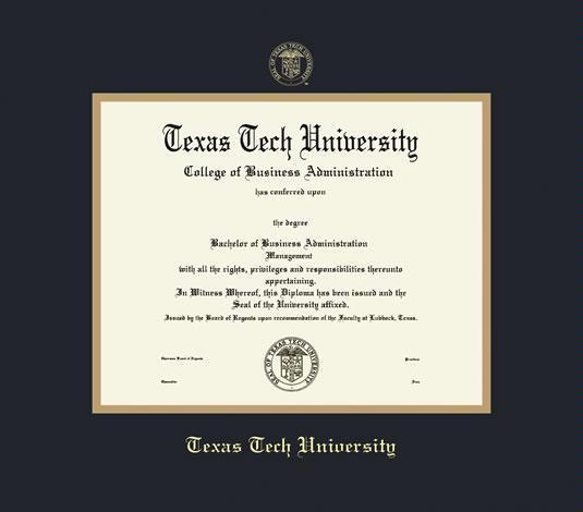 Custom Diploma Frames & Certificate Frames - Framing Success: Texas ...