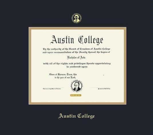 Custom Diploma Frames & Certificate Frames - Framing Success: Austin ...