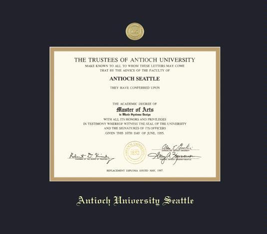 Antioch College diploma frame campus certificate Antioch degree frames framing gift graduation plaque document graduate alumni