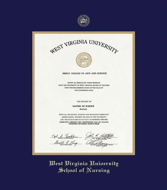 Custom Diploma Frames Certificate Frames Framing Success Wvu
