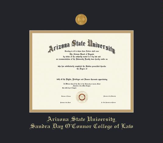 Custom Diploma Frames & Certificate Frames - Framing Success: ASU ...