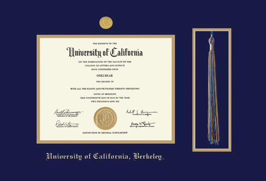 Custom Diploma Frames & Certificate Frames - Framing Success: UC ...