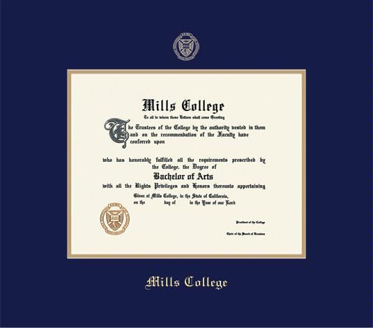 Custom Diploma Frames & Certificate Frames - Framing Success: Mills ...