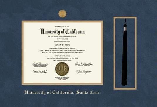 Custom Diploma Frames & Certificate Frames - Framing Success: UC ...