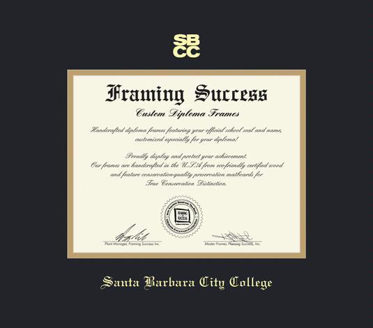 Custom Diploma Frames & Certificate Frames - Framing Success: Santa ...