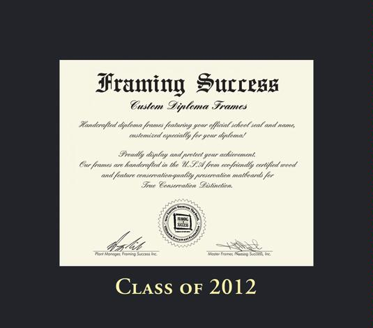 Custom Diploma Frames Certificate Frames Framing Success Class