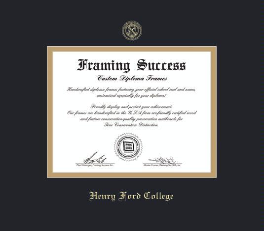 Custom Diploma Frames & Certificate Frames - Framing Success: Henry ...