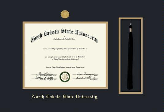Custom Diploma Frames & Certificate Frames - Framing Success: NDSU ...