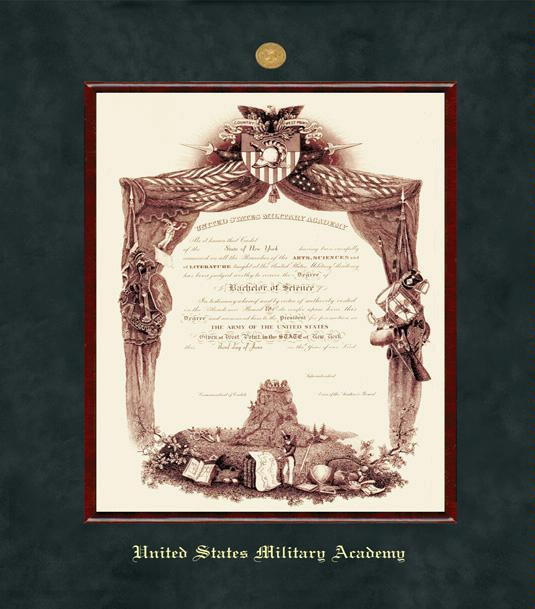 Custom Diploma Frames & Certificate Frames - Framing Success: USMA ...