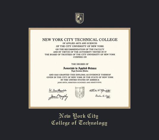 Custom Diploma Frames & Certificate Frames - Framing Success: NYC ...
