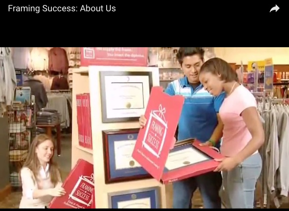 About Us Video, Framing Success