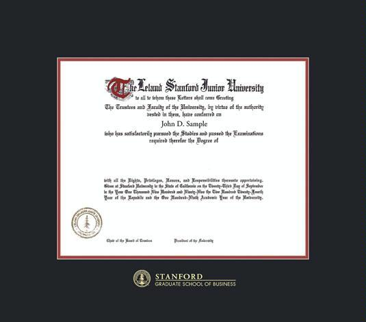 certificate stanford graduate frames computing quantum framing diploma success