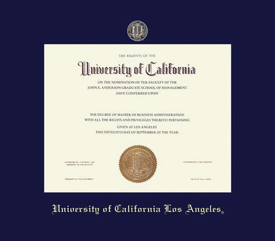 UCLA Diploma
