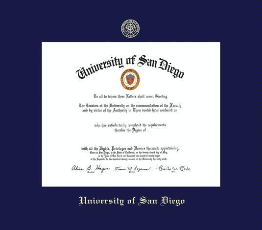 Custom Diploma Frames & Certificate Frames - Framing Success: U. of ...