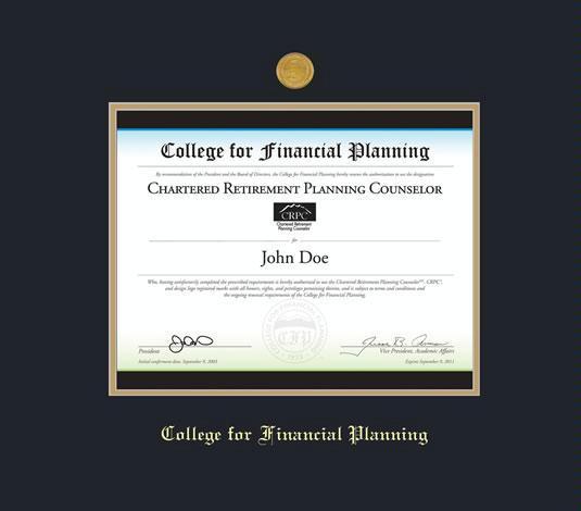 Custom Diploma Frames Certificate Frames Framing Success College For Financial Planning