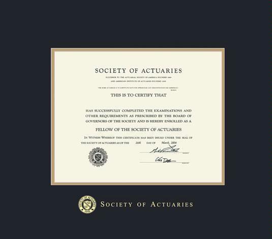 Custom Diploma Frames & Certificate Frames - Framing Success: Society ...