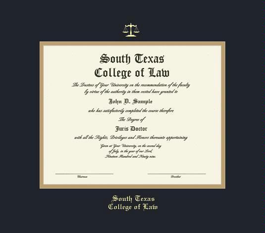 Custom Diploma Frames & Certificate Frames - Framing Success: South ...