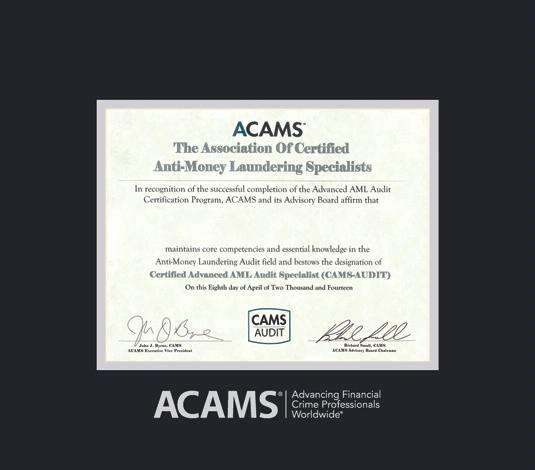 certificate acams frames aml custom cams framingsuccess