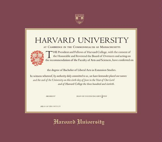 thesis harvard extension