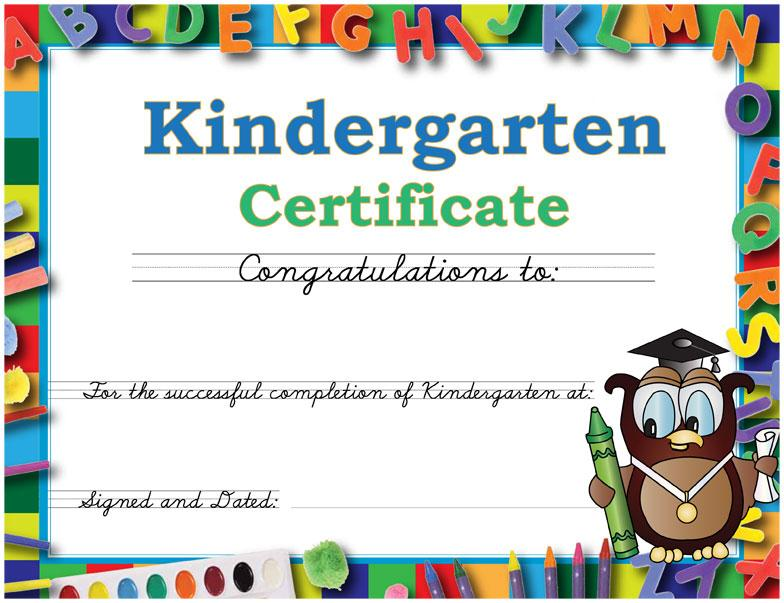 Kindergarten completion certificates fieldstation kindergarten completion certificates yelopaper Image collections