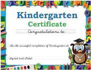 Kindergarten-Certificate